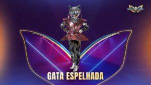 Fantasia Gata Espelhada de The Masked Singer Brasil