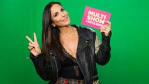 Multishow exibe o encontro de Banda Eva, Ivete Sangalo e Lexa, com participações especiais de Mari Antunes e Glória Groove (foto: Globo/Divulgação)