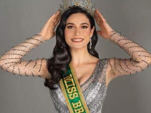 A Miss Brasil Julia Gama vai trabalhar com Faustão na Band (foto: Reprodução)