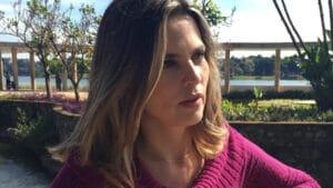 Ex-repórter do Jornal Nacional, Juliana Perdigão deixou a emissora para realização de um sonho (foto: Reprodução)