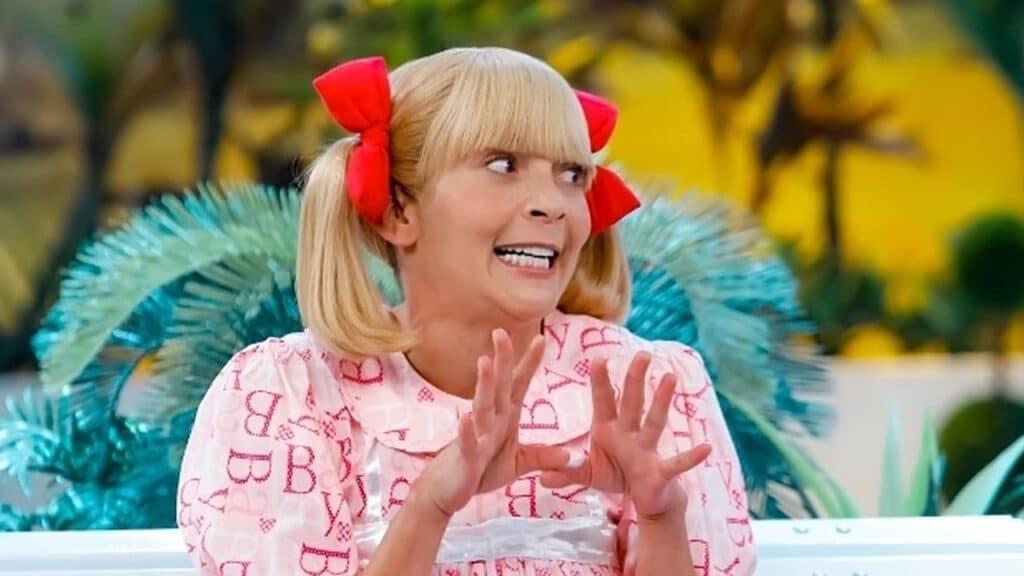 Marlei Cevada como Nina em A Praça é Nossa; atriz vai fazer série no Multishow (foto: Reprodução)