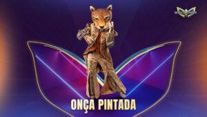 Fantasia Onça Pintada de The Masked Singer Brasil