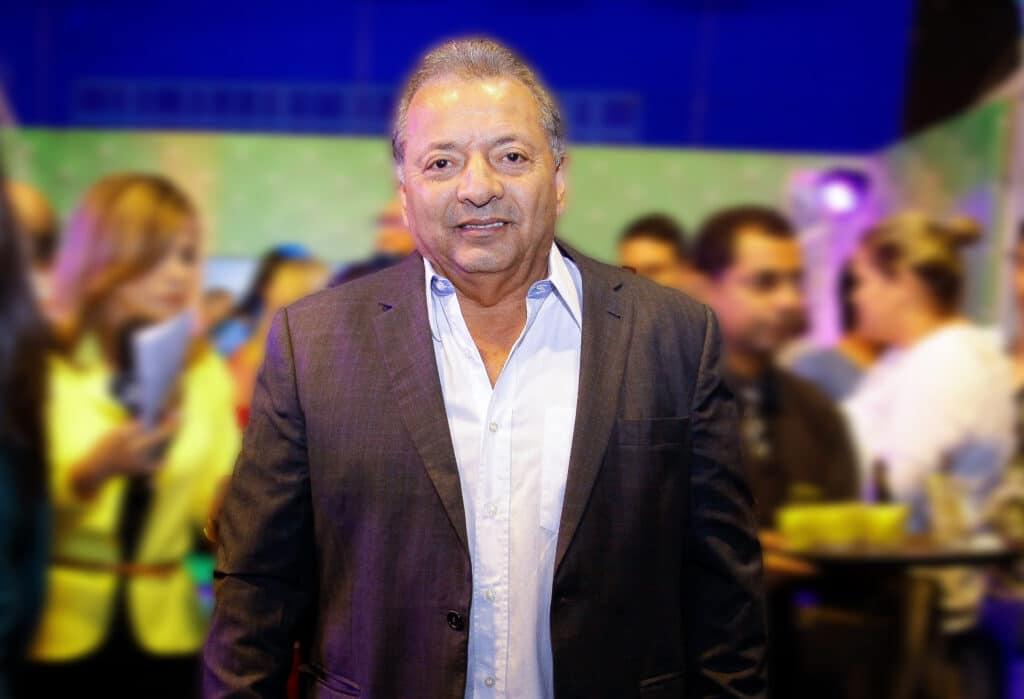 O empresário Otávio Raman Neves, sócio da TV Norte Amazonas, afiliada do SBT, morreu vítima da Covid-19 (foto: Reprodução)