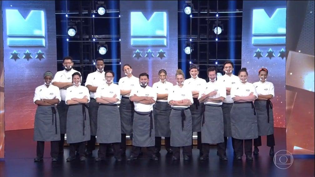 Participantes eliminados na final da terceira temporada de Mestre do Sabor; terceira temporada foi a de menor audiência (foto: Globo/Reprodução)
