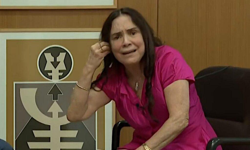 Regina Duarte diz que aceitaria fazer novela na Record (foto: Reprodução)