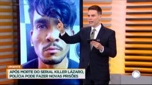 Record vai usar material do jornalismo para documentário sobre Lázaro Barbosa (foto: Reprodução)