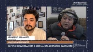Datena confirma que é pré-candidato à presidência nas eleições de 2022 (foto: Reprodução)