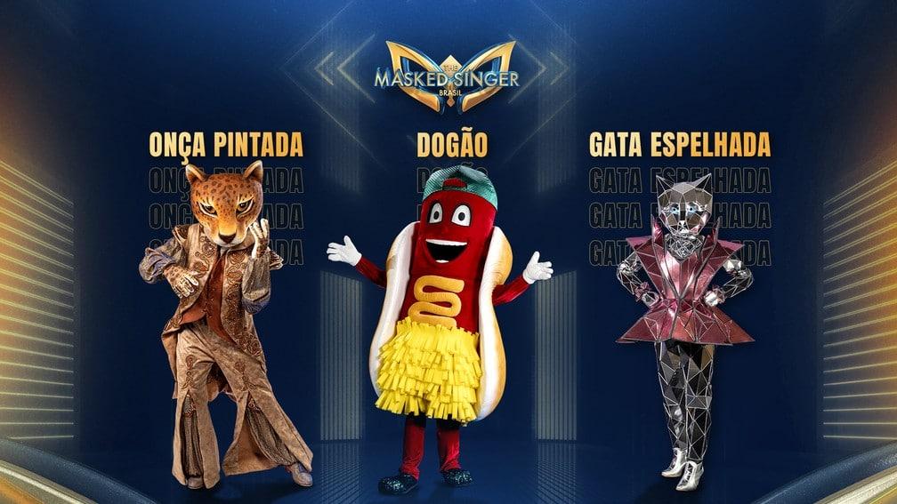 Globo divulgou as primeiras fantasias do reality The Masked Singer Brasil (foto: Globo/Divulgação)