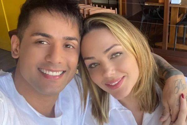 Tiago e Tania Mara terminaram o namoro (foto: Reprodução)
