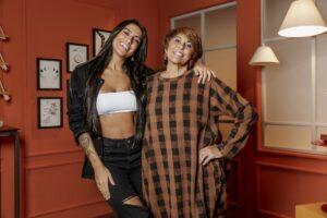 Any Borges e astróloga Márcia Fernandes estreiam reality show no UOL (foto: Divulgação)