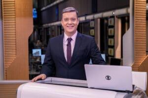 Roberto Kovalick almoça às 8h da manhã e janta ao meio-dia (foto: Globo/Mauricio Fidalgo)