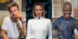 Gui Napolitano, Érica Reis e Sebastian são alguns dos destaques do próximo Bake Off Celebridades (foto: Arte/TV Pop)