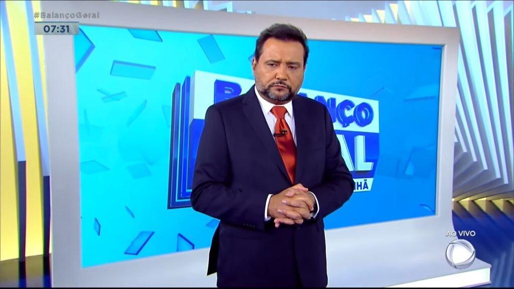 Geraldo Luís desabafou sobre fase difícil no Balanço Geral Manhã (foto: Reprodução/Record)