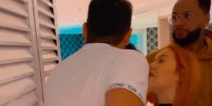 Barraco generalizado tumultuou hotel em que os participantes do Power Couple estão (foto: Reprodução)