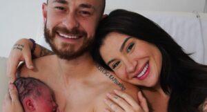 Cris é o primeiro filho de Bianca Andrade e Fred (foto: Reprodução)