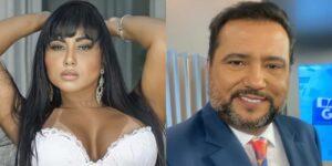 Cássia Mello namorou com o jornalista Geraldo Luís há nove anos (foto: Reprodução)