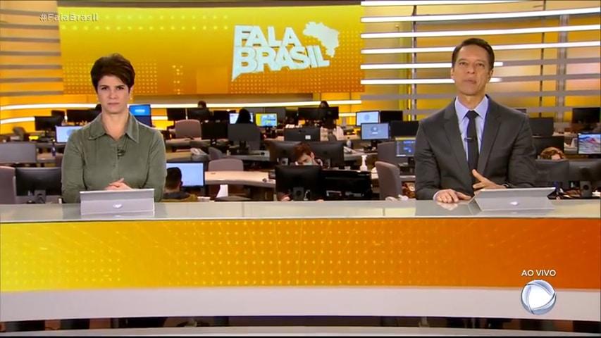 Fala Brasil teve a pior audiência do ano em 2021 e perdeu para o SBT (foto: Reprodução/Record)