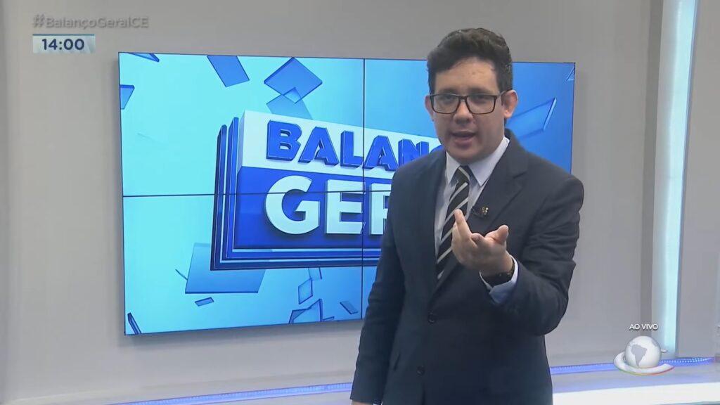 """Afiliada da Record diz que Erlan Bastos se demitiu """"contra a vontade"""" da emissora (foto: Reprodução/TV Cidade)"""