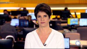Mariana Godoy é a apresentadora do Fala Brasil: cobertura do caso DJ Ivis turbinou o matinal (foto: Reprodução)