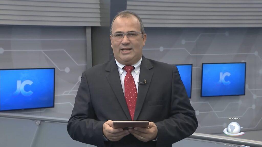 Hermann Hesse foi demitido pela afiliada da Record em Fortaleza (foto: Reprodução/TV Cidade)