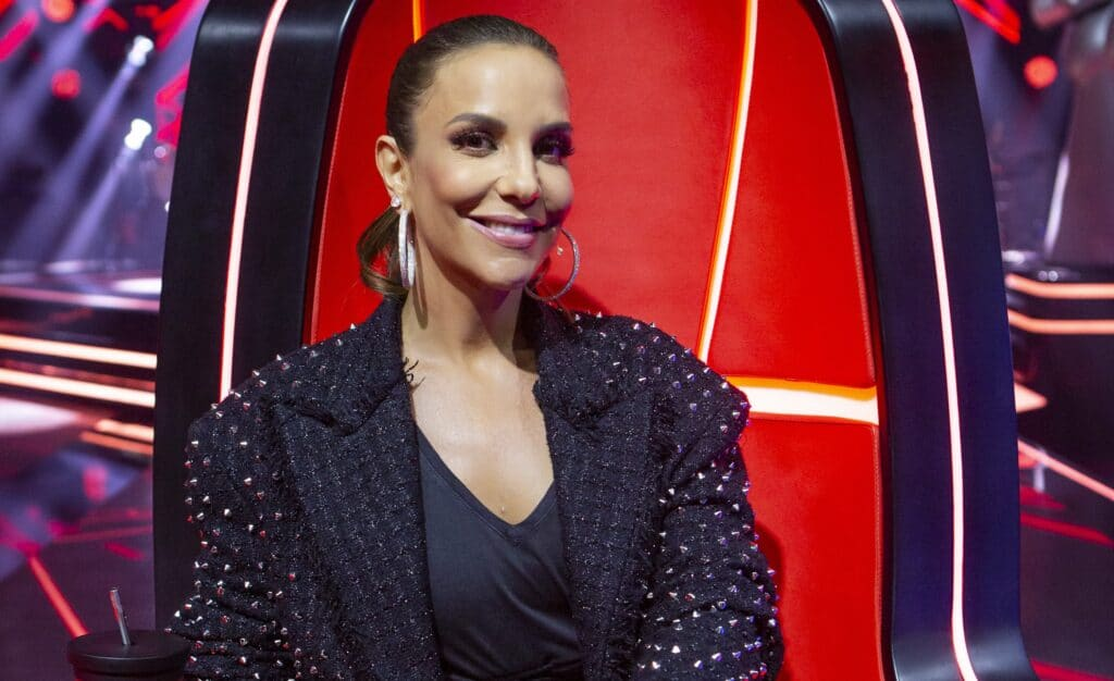 Ivete Sangalo no The Voice Brasil; cantora apresentará o The Masked Singer (foto: Isabella Pinheiro/TV Globo)