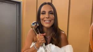 Ivete Sangalo ficará no ar por mais de três horas seguidas nos canais da Globo (foto: Divulgação/TV Globo)