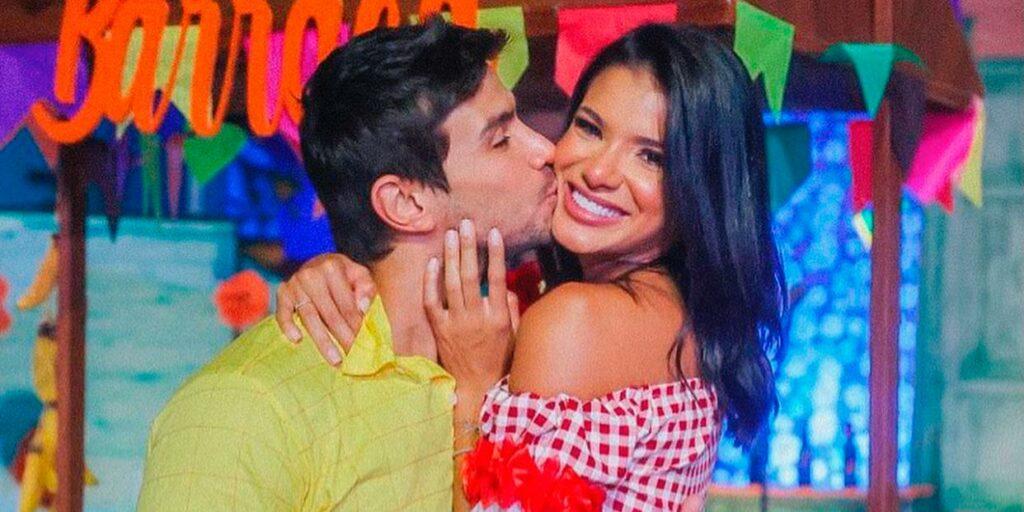 Jakelyne e Mariano acham que ainda é muito cedo para engravidar (foto: Reprodução)