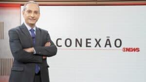 José Roberto Burnier é um dos apresentadores do Conexão GloboNews (foto: Maurício Fidalgo/TV Globo)