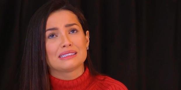 """Juliette chorou e disse que queria, no máximo, ser uma """"subcelebridade"""" (foto: Reprodução/Globoplay)"""