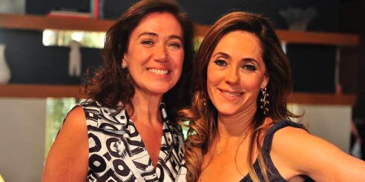 Lilia Cabral confundiu Christiane Torloni com o seu primo Nelson (foto: Reprodução)
