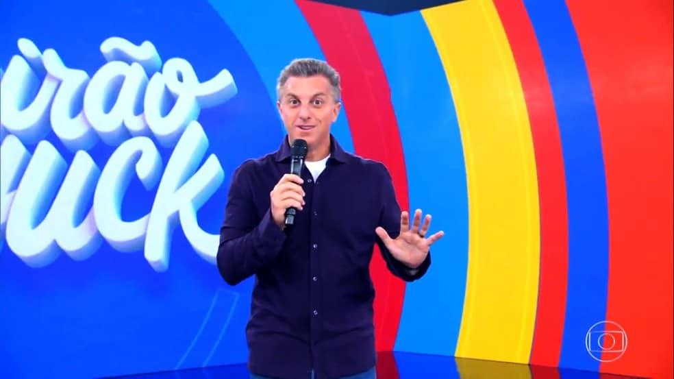 Luciano Huck é um dos sócios da nova empreitada da Globo (foto: Reprodução/TV Globo)