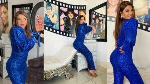 Novo bumbum da apresentadora Mara Maravilha (foto: NaTelinha)