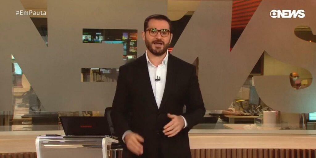 Marcelo Cosme elogiou coragem de Eduardo Leite em sair do armário (foto: Reprodução/GloboNews)