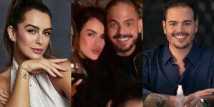 Pela primeira vez, Mari Saad e Guilherme Priante posaram juntos para foto (foto: Reprodução)