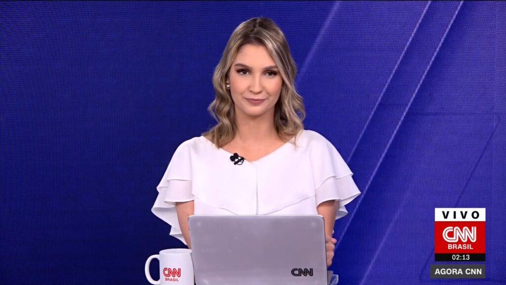 Muriel Porfiro é uma das principais revelações da CNN Brasil (foto: Reprodução/CNN Brasil)