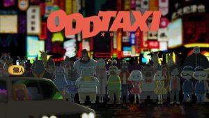 Poster do anime ODDTAXI (foto: Divulgação)