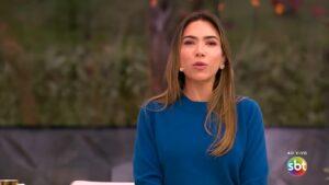 Patricia Abravanel segue sem conquistar os telespectadores do Vem Pra Cá (foto: Reprodução/SBT)
