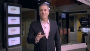 Roberto Kovalick é o âncora e editor-chefe do Hora 1 (foto: Reprodução/TV Globo)