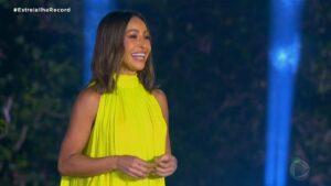 Sabrina Sato é a apresentadora do Ilha Record: reality levantou a audiência da emissora (foto: Reprodução/Record)