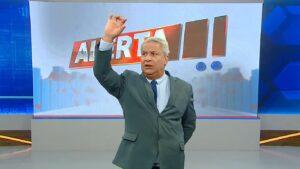 Comentários de Sikêra Jr. seguem dando dor de cabeça para a RedeTV! (foto: Reprodução/TV A Crítica)