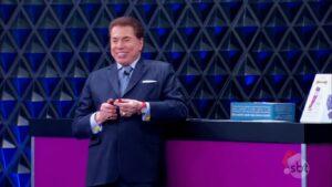 Silvio Santos retomou gravações de seu programa após 19 meses de afastamento (foto: Reprodução/SBT)