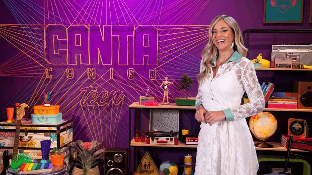 Ticiane Pinheiro terá mais espaço na próxima temporada de Canta Comigo Teen (foto: Divulgação)