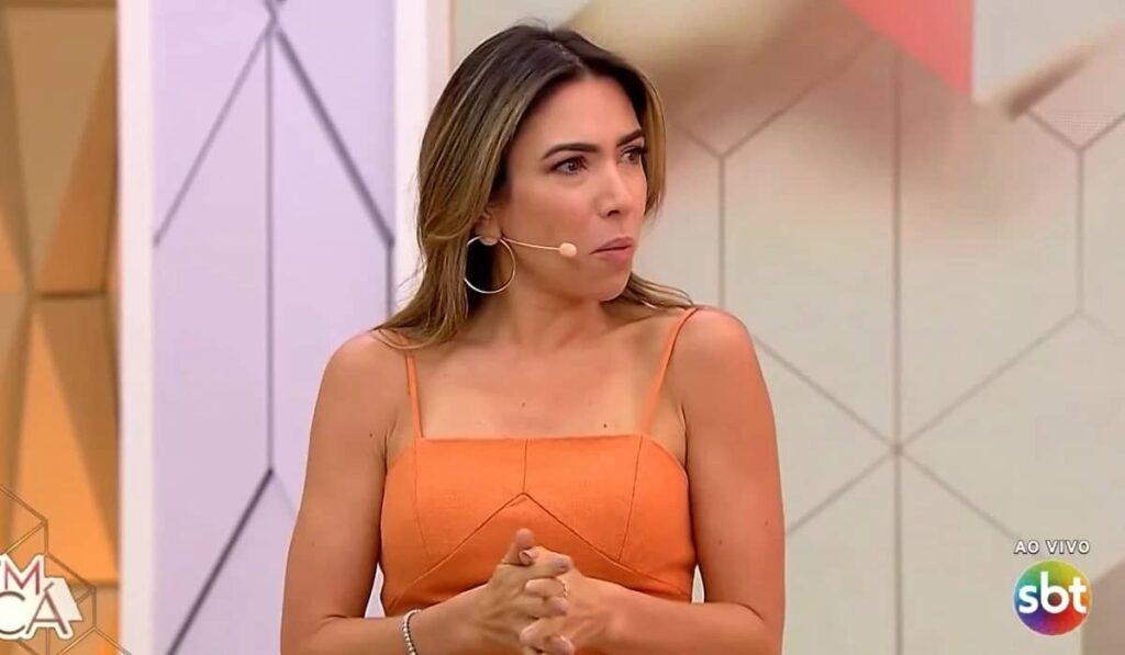 Patricia Abravanel pediu férias e se afastou do comando do Vem Pra Cá (foto: Reprodução/SBT)