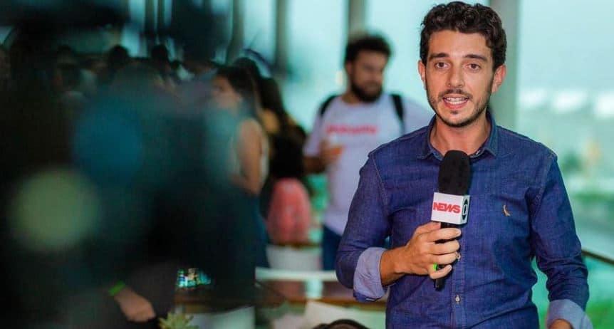 Victor Ferreira trocou a Globo Rio por São Paulo para acompanhar noiva e filha (foto: Reprodução)