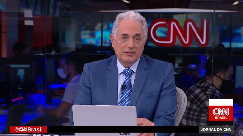William Waack é o principal nome da CNN Brasil: canal de notícias ganhará versão portuguesa ainda em 2021 (foto: Reprodução/CNN Brasil)