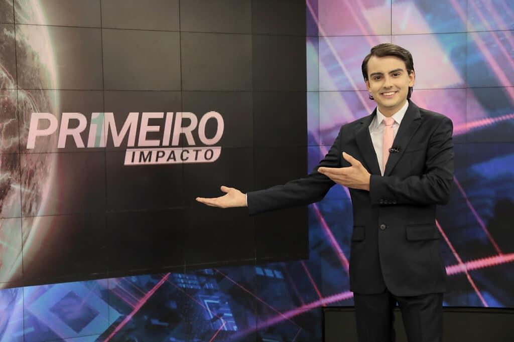 Dudu Camargo se aproxima da Globo e começa a dar dor de cabeça à emissora (foto: Lourival Ribeiro/SBT)