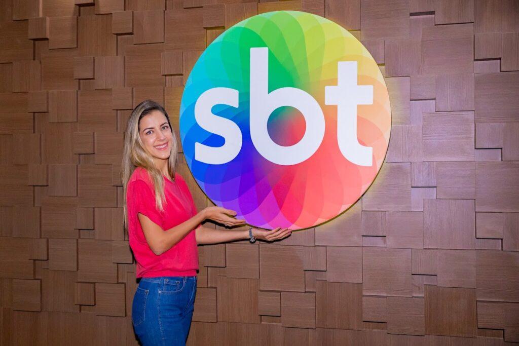 Jornalista esportiva Domitila Becker foi contratada pelo SBT (foto: SBT/Gabriel Cardoso)