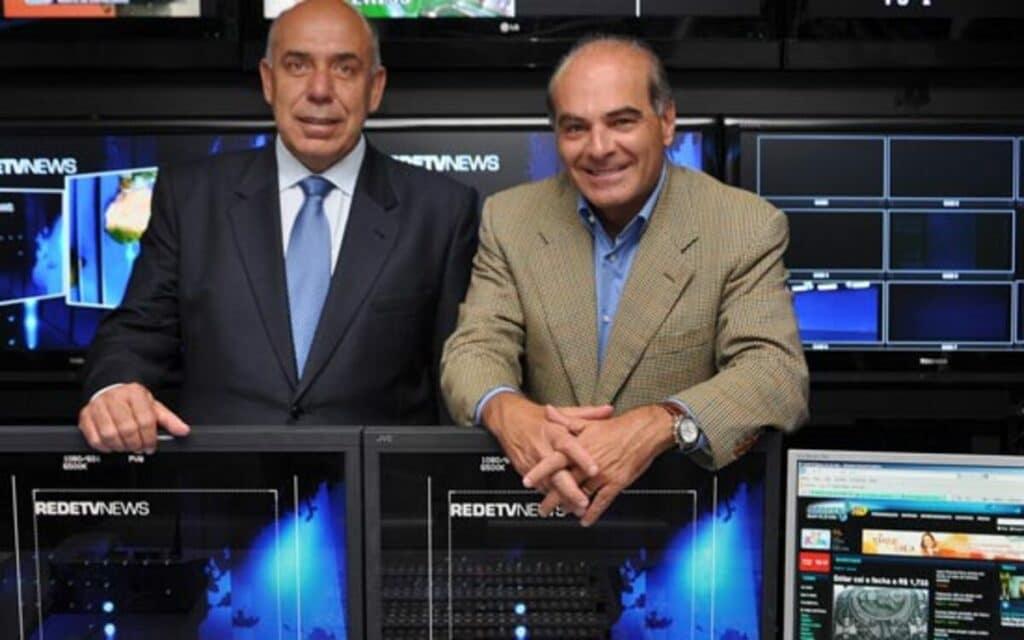 Amilcare Dallevo Jr. e Marcelo de Carvalho são os donos da RedeTV! (foto: Divulgação/RedeTV!)