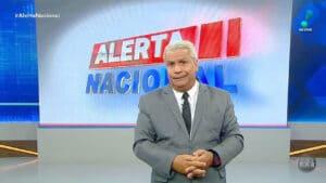 Apresentador do Alerta Nacional, Sikêra Jr. foi à Justiça contra líder LGBTQIA+ (foto: Reprodução/RedeTV!)