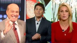 Apresentadores da Record e RedeTV! foram os que mais receberam por trabalhos em campanhas do governo de Jair Bolsonaro (foto: Reprodução/Montagem)